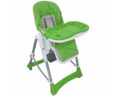Baby-Hochstuhl, Baby-Klappstuhl, Grün, Bereitgestellte Größe: 105 x 75 x 60 cm