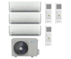 Clivet Klimaanlage Trial Split 9000+9000+12000BTU Fu-R32, A++