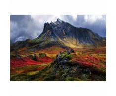 Papier Fototapete Berg in Island 368x254cm