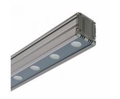 LED Lineal Wandfluter 24W RGB DMX IP65 RGB