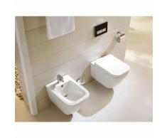 Komplettset Wand-WC WHR-6021 + Wand-Bidet WHB-6028 inkl. Soft-Close Sitz