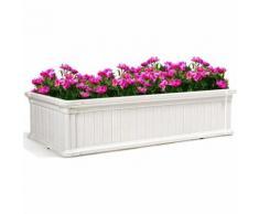 Hochbeet, Fruehbeet fuer Pflanzen und Gemuese, Blumenbeet Pflanzenbeet fuer Terrasse und Garten,