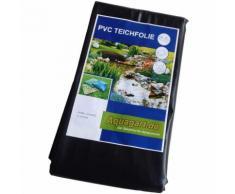 Teichfolie PVC 3m x 4m 1,0mm schwarz Folie für den Gartenteich
