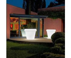 Leuchtende Vase für Designpflanzen Light Große Rutsche Big Gio