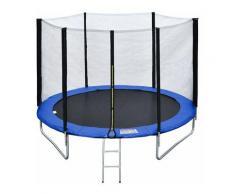 Beneffito - Saltar - Trampolin Reversible - Grün Blau - Durchmesser 305 cm - Grün blau