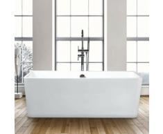 Rechteckige Freistehende Badewanne Modernes Design ICARIA