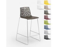 Design Hocker für Küchenbar 86cm Mini Spider | Braun - Grand Soleil