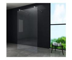 Freistehende Duschwand AQUOS-Dublo 180 x 200 cm - Klarglas