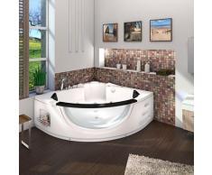 Whirlpool Pool Badewanne Eckwanne Wanne A1506N-ALL 152x152cm Reinigungsfunktion -13832- ohne Radio