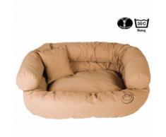 Ersatzbezug für Hunde-Sofa, Farbe: Nougat, 95 x 75 x 35 cm