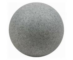 Heitronic Lichtkugel Leuchtkugel MUNDAN Granit 500mm 18 Watt E27 Garten Deko
