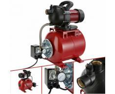 Hauswasserwerk (1000 Watt, 3500 l/h) - Gartenpumpe Wasserpumpe Pumpe