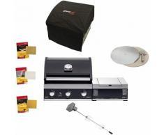 Grandhall Living Style - Grandhall Gasgrillpaket Premium G3 Einbau Grill mit Sear Burner Set Gas
