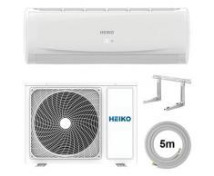 HEIKO Split Klimaanlage R32 Wandgerät 5m Komplett-Set 3,5 kW EEK: A++ / A+