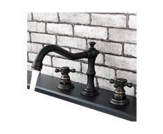 Badarmatur doppelter Griff, Bronze-Ausführung