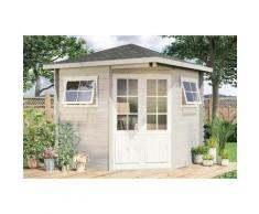5-Eck Gartenhaus Modell Sunny-B