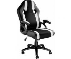 Bürostuhl Goodman - Gaming Sessel, Zockersessel, Computerstuhl - negro/blanco