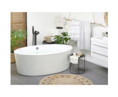 Moderne, freistehende Badewanne Acryl oval weiß 170 cm Tintamarre