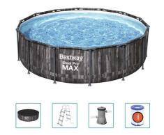 Steel Pro MAX Swimmingpool-Set Rund 427x107 cm - Bestway