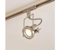 LED-Spot Arika f. 1-Phasen-Schienensystem, nickel