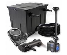 SunSun 1-Kammer Filter Set 12000l 18W UVC Teich Klärer NEO8000 70W Pumpe Schlauch Springbrunnen