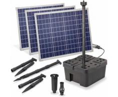 Solar Teichfilter Set Professional 150W 5000 l/h Gartenteich Teichpumpe 100912