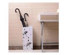 Schirmständer Regenschirmständer mit Wasserauffangschale SST02ws