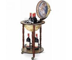 COSTWAY Globusbar Minibar Weltkugel Weinregal Flaschenregal Globus Bar Hausbar Cocktailbar Tischbar