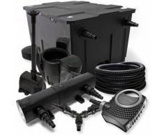 Wiltec - SunSun Filter Set 60000l Teich 36W Teichklärer NEO8000 70W Pumpe 25m Schlauch Skimmer