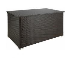 Tectake - Auflagenbox mit Aluminiumgestell Stockholm, 145x82,5x79,5cm - Gartenbox, Kissenbox,