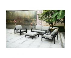 Outdoor Sitzgruppe Rio I Gartenmöbel, Lounge I L - Home Deluxe