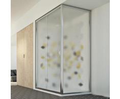 Young Duo 1 Tür Duschkabine 150x80 CM H198 ESG-Strukturglas