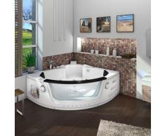 Whirlpool Pool Badewanne Eckwanne Wanne A1505H-ALL 140x140cm Reinigungsfunktion -16618- ohne aktive