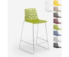 Grand Soleil Design Hocker für Küchenbar 86cm Mini Spider | Grün Anis