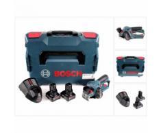 Bosch GHO 12V-20 Akku Hobel Professional in L-Boxx + 2x GBA 12 V 6,0 Ah Akku + GAL 1230 CV Schnell