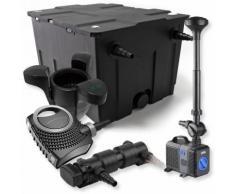 Wiltec - SunSun 1-Kammer Filter Set 60000l 18W UVC Teich Klärer NEO8000 70W Pumpe Springbrunnen