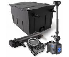 SunSun 1-Kammer Filter Set 60000l 36W UVC Teich Klärer NEO8000 70W Pumpe Springbrunnen