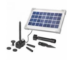 Solar Teichpumpe 3,5W 200l/h Solarpumpe Gartenteich Set Pumpenset esotec 101908