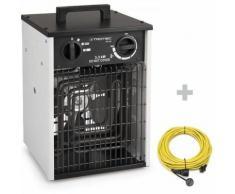 Trotec Elektroheizer TDS 20 + Profi-Verlängerungskabel 20 m / 230 V / 2,5 mm²