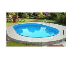 Summer Fun Stahlwandbecken Rhodos Exklusiv oval 4,20m x 8,00m x 1,50m Folie 0,6mm mosaik