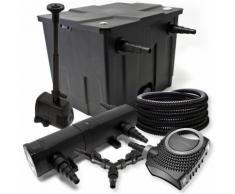 Filter Set für 12000l Teich 36W Teichklärer NEO8000 70W Pumpe 25m Schlauch Springbrunnen