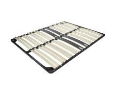 I-flair - Lattenrost Lattenrahmen Ergo IF28 - für alle Matratzen geeignet 200x200 cm
