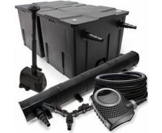 SunSun Filter Set für 60000l Teich 72W Teichklärer NEO8000 70W Pumpe 25m Schlauch Springbrunnen