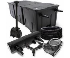 SunSun Filter Set für 90000l Teich 24W Teichklärer NEO8000 70W Pumpe 25m Schlauch Springbrunnen