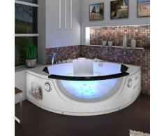 Whirlpool Pool Badewanne Eckwanne Wanne A1506H-ALL 152x152cm Reinigungsfunktion -13495- mit aktiver