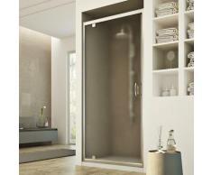 Sintesi 1 Tür Duschtür 90CM H185 Strukturglas