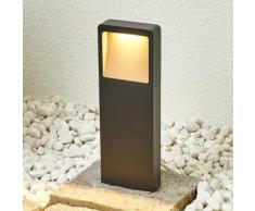 """LED Außenleuchte """"Leya"""" (Modern) in Schwarz aus Aluminium (1 flammig, A+, inkl. Leuchtmittel) von"""