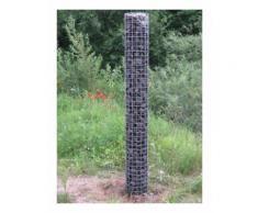 Gabionensäule Durchmesser 22 cm, MW 5 x 5 cm rund - Durchmesser 22 cm, Höhe 1,90 m
