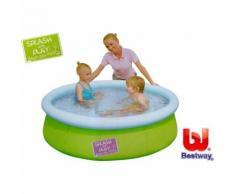 Planschbecken Fast Set Pool grün mini 152 x 38 cm Bestway