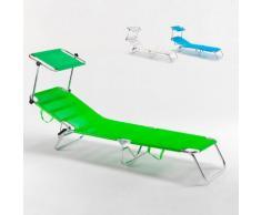 Strandbett Am Strand Strandbett Aluminium Klappbett Schwimmbad Cancun | Grün